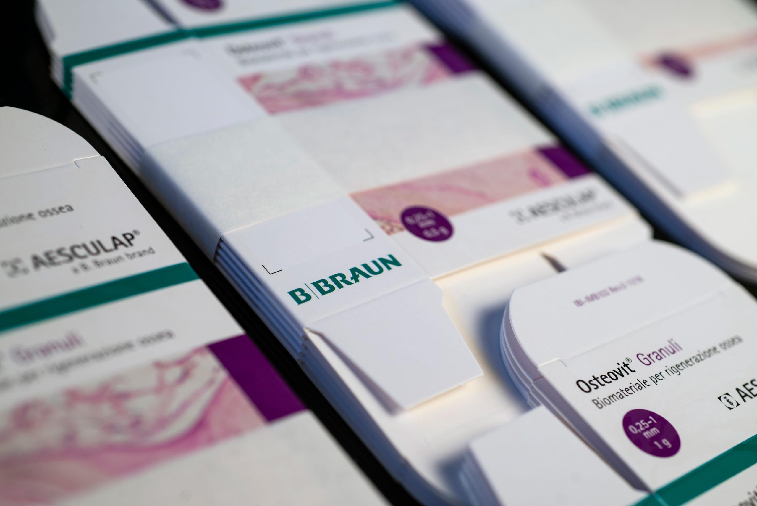 Osteovit® Granuli Aesculap® - packaging design