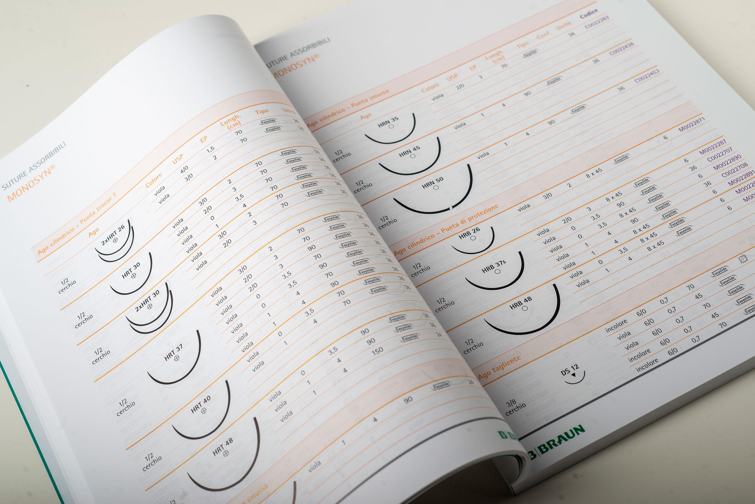 B. Braun Italia - catalogo suture, reti e specialità chirurgiche
